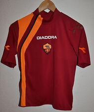 AS ROMA ITALY 2005/2006 HOME FOOTBALL SHIRT MAGLIA JERSEY DIADORA TOTTI ERA