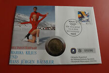 * Numisbrief 1994 mit Schweden 1 Krone 1993 *Olympia 1994(ALB14)