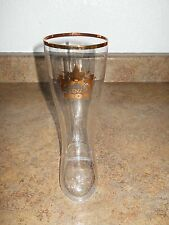 Ginza Lion Beer Hall Boot Shaped Glass From Tokyo VHTF