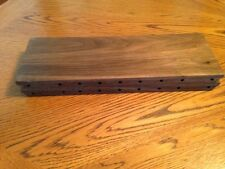 floating shelves 12 x 4 x 3/4 handcrafted out of sold walnut wood,one only