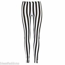 4a7870287e5b4 GIRLS PRINTED LEGGINGS KIDS SKULL & ROSE FLUORESCENT ZEBRA LEOPARD USA  STRIPES