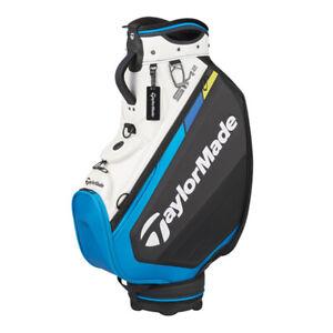 TaylorMade Golf SIM2 2MSCB-TA877 Cart CADDIE BAG White&Black&Blue 9.5 6 way top
