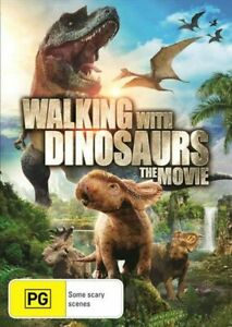 Walking With Dinosaurs DVD - Pg Rated Family Movie Dinosaur