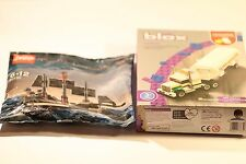 WILKO BLOX TANKER + LEGO PIRATES OF THE CARIBBEAN SHIP 30130 JOB LOT