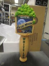 """Blue Moon White IPA Beer Tap Handle - New in Box - 10"""" Tall"""