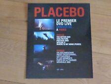 PLACEBO - LIVE PARIS !RARE FRENCH PLV / CARDBOARD DISPLAY !!!!