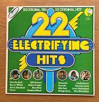 22 ELECTRIFYING HITS ORIGINAL ARTISTS 1974 VINYL LP POP COMPILATION