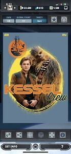 Topps Star Wars Digital Card Trader Solo Distant Dystopia Kessel Crew Insert