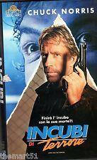 Incubi di Terrore (1993) VHS MGM 1a Ed.   Chuck Norris