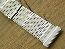 Gemex Unused Vintage Watch Band Deployment 19mm Straight Stainless Steel NOS