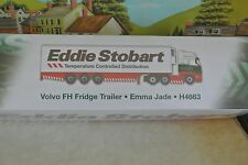 Volvo FH Fridge Trailer Emma Jade H4663 Eddie Stobart Ltd New and unopened.