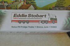 Volvo FH Fridge Trailer Emma Jade H4663 Eddie Stobart Ltd New and unopened.