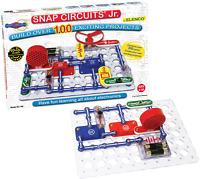 Snap Circuits Jr. SC-100 Electronics Exploration Kit, Kids Building Projects for