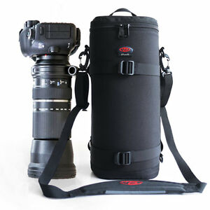 Sturdy thick telephoto lens case bag pouch for Nikon 200-500mm, 300mm f4 & f2.8