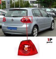 FOR VW GOLF V MK5 HATCHBACK 2003 - 2009 NEW REAR TAIL LIGHT LAMP OUTER RIGHT O/S