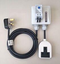 Controlador De Temperatura De Ventilador Termostato fresco para Hydro Hidroponía Grow Tent LED