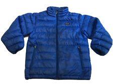 Patagonia Nano Puff Jacket Boys S (8) Blue Goose Down
