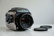 Film Tested Zenza Bronica S2 6x6 Medium Format SLR Camera WLF Nikkor 75mm 1:2.8