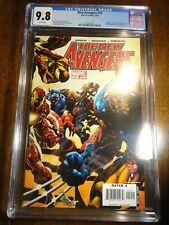 New Avengers #19 Deodato Cover CGC 9.8 NM/M Wolverine Spider-man 1st Pr Marvel