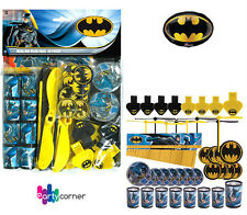 Batman Party Supplies Favours 48 PIECE VALUE PACK PINATA FILLER