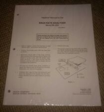 Heathkit Assembly Manual Model Sk-205 baud rate analyzer.Sealed New booklet