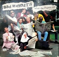 Bad Manners What the Papers Say Vintage Vinyl Record 1985 LP VG+ Promo