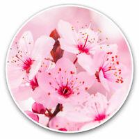 2 x Vinyl Stickers 7.5cm - Sakura Cherry Blossom Flower Cool Gift #2626