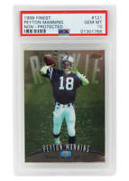 Peyton Manning 1998 Topps Finest #121 RC Rookie Card -PSA 10 GEM MINT -New Label