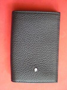 MONTBLANC *4810 WestSide* 2CC Leder Visitenkarten Kreditkarten Etui Dkl, Braun