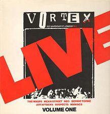 VARIOUS - Live At The Vortex (1977 PUNK/WAVE VINYL LP GERMANY)