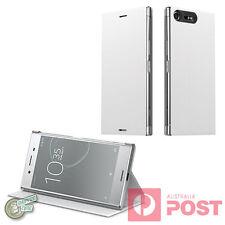 GENUINE ORIGINAL SONY Xperia XZ Premium Dual G8142 SCSG10 Style Case Cover Stand