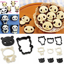 FR_ LC_ Cartoon Panda gâteau coupe biscuit bonbon cuisine décoration Moule out
