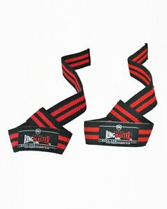 RingMaster Weight Lifting Straps Padded Wraps Support Hand Wrist Training Gym