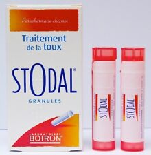 Boiron STODAL granules 2 x 4g for cough - Original - UK Stock