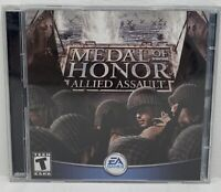 Medal of Honor: Allied Assault (PC, 2002) Electronic Arts Inc, Computer Game