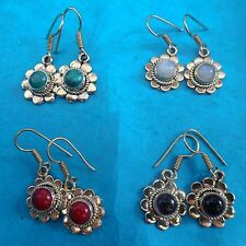 Amethyst Earrings Indian Jewellery