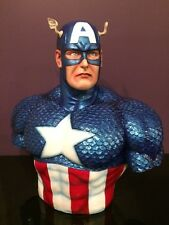 LIFE SIZE CAPTAIN AMERICA BUST STATUE/ACTION FIGURE.