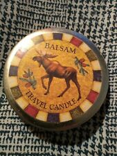 Cape Shore Travel Candle Balsam,3 wicks,NEW,in tin,burns 2 hours