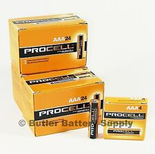 72 x AAA Duracell Procell Alkaline Batteries (PC2400, LR03)