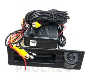 BMW rear view camera reverse parking for 2 3 4 5 series NBT EVO F22 F30 F32 F10