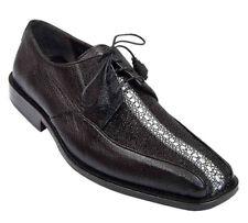 Men's Los Altos Genuine Stingray Rowstone Bicycle Toe Derby Shoes Lace Up