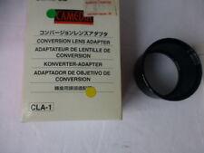 olympus camedia lens conversion adaptador cla-1 46mm x 24.9mm