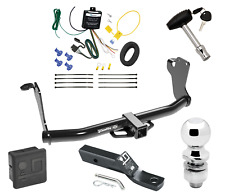 "Trailer Tow Hitch For 2019 Mitsubishi Eclipse Cross w/ Wiring & 2"" Ball & Lock"