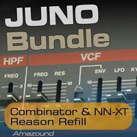 JUNO-106 JUNO-60 JUNO-6 JUNO ALPHA REASON REFILL COMBINATOR NNXT SAMPLES PC MAC