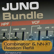 JUNO-106 JUNO-60 JUNO-6 JUNO ALPHA REASON REFILL COMBINATOR NNXT SAMPLES PC MAC