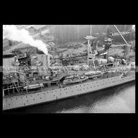 #php.00717 Photo HMS REPULSE ROYAL NAVY BATTLECRUISER 1916
