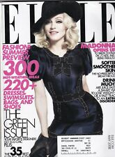 Elle Magazine Madonna Opens Up 300 Weather Ideas May 2008 062819nonr