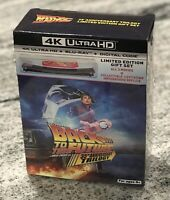 NEW BACK TO THE FUTURE TRILOGY 4K ULTRA HD BLURAY EXCLUSIV LEVITATING HOVERBOARD