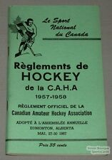 Canadian amateur hockey rules