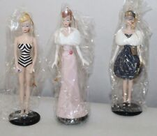 Boxed Ashton Drake Heirloom Ornaments Club Classic Barbie Ornaments #1 lot r